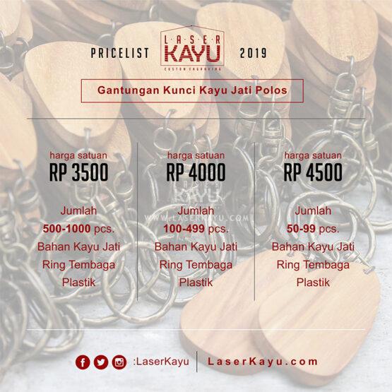 Pricelist-Harga-Souvenir Bahan Ganci-Gantungan Kunci-Polosan-Laser-Kayu Jati-Sablon-Transfer Paper-grafir-JAKARTA-BANDUNG-SUMATERA-KALIMANTAN-Jepara-BALI-INDONESIA