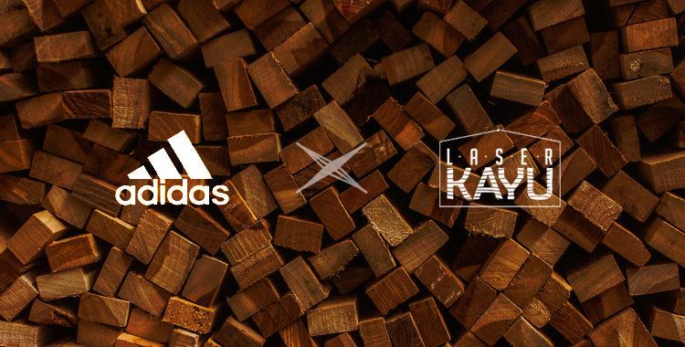 Perusahaan-pembuat-kerajinan-Souvenir-Gift-aksesoris-Kayu-Adidas-oleh-Laser-Kayu-Jepara-Indonesia