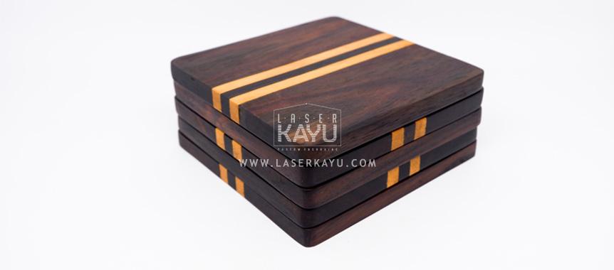 Souvenir-Tatakan-Alas-Gelas-Kayu-Sono-Jati-Wooden-coaster-cup-Keperluan-Cafe-Restaurant-Resort-Hotel-Laser-Kayu-Jepara-Java-Sumatera-Kalimantan-bali-Indonesia